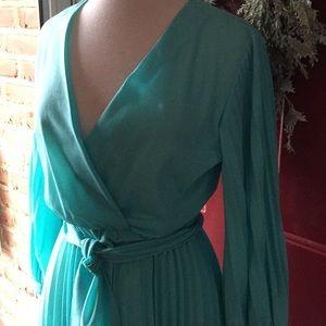 Vintage sky blue dress Mont. Wards like new